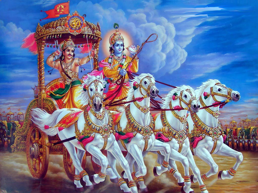Muslim girl was the number of the knowledge of the Bhagavad Gita