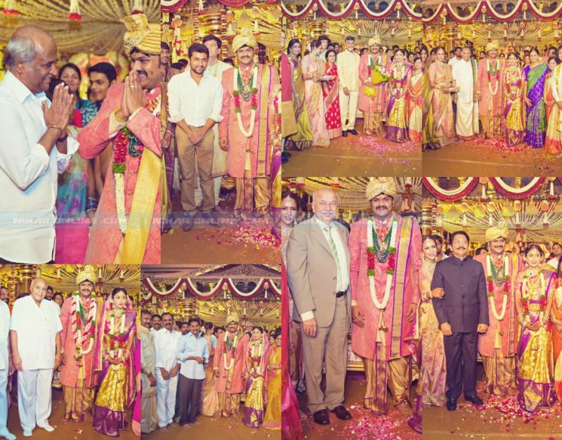 Celebrities At Manchu Manoj Wedding