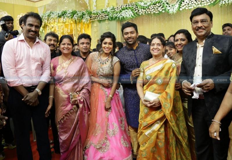 Bhagyarajs Son Shanthanu Wedding Reception Photos
